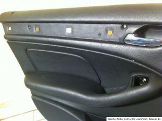 BMW E46 Limousine Leder ürverkleidung ürpappen Monana schwarz
