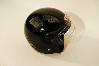 Motorrad Helm Motorradhelm Helm schwarz Gr. XL Jethelm Motorrollerhelm