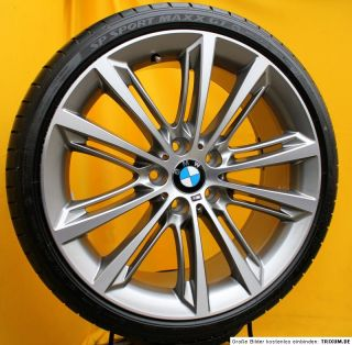 Original BMW 5er F10 20 Zoll Alufelgen M Performance V Speiche Styling