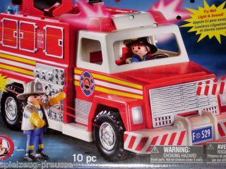 PLAYMOBIL 5843 (4820 4821) Feuerwehr Fire Truck NEU OVP
