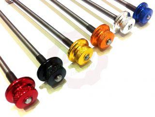 TITAN CARBON SL Schnellspanner MTB Rot / Schwarz / Gold / Blau xtr xx