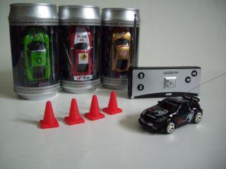 RC Micro Car, Mini RC Auto in Dose mit Pylonen verschiedene Farben NEU