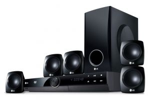 LG HT306SF 5.1 Channel DVD Home Theatre Systems USB Direct Recording