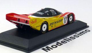 43 Minichamps Porsche 962C #17 Norisring Stuck 1987