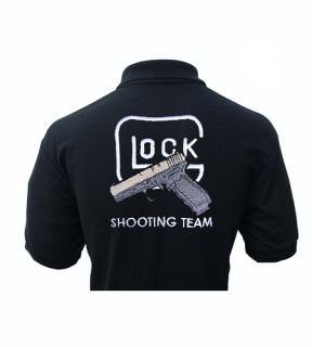 Glock Gun Shooting Team Gotcha Polo Shirt