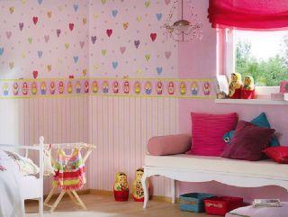 Bordüre Kinderzimmer Borte Madrouschka u. Kombi Tapeten
