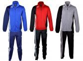 Adidas Trainingsanzug SERENO rot schwarz blau silber schwarz XS S M L