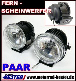 Fernscheinwerfer,ZEN,H3,schwarz,PAAR,Triumph Tiger 750,TR,800,900,955
