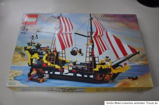 LEGO Pirates 10040   Black Seas Barracuda Piratenschiff von 2002   neu