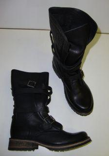 STEVE MADDEN Banddit Damen kurze Stiefel Boots Stiefeletten schwarz 37
