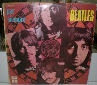 BEATLES por siempre / LP / 1 J 060 04.973 M / spain pressing
