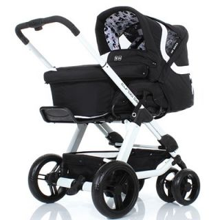 ABC Design TURBO 6S monsters 2012/13 Kombi Kinderwagen AB GEBURT