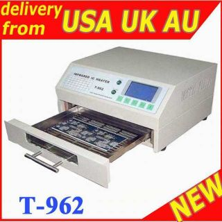 962 INFRARED IC HEATER REFLOW WAVE OVEN BGA T962 m6