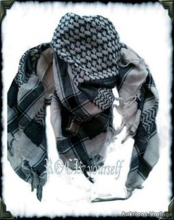 PLO Palästinenser Pali Tuch Schal Arafat Totenköpfe Skulls Punk