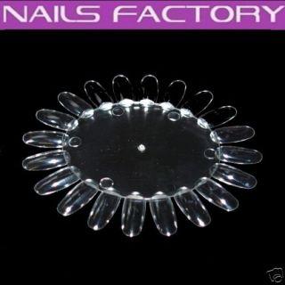 Musterrad Präsentationsdisplay klar, Nails,Nagelstudio