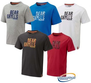 Craghoppers Bear Grylls Camo Logo T Shirt