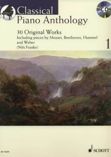CLASSICAL Piano Anthology 1 • 30 Originalwerke • Klavier Noten+CD