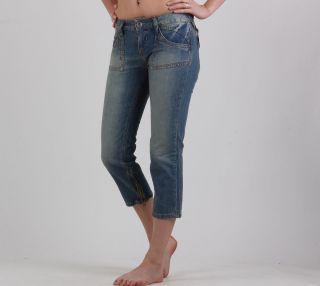 Neu Desigual Damen Jeans/Hose 7/8 Grösse 38(M) D8