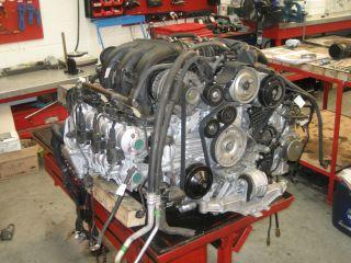 Porsche Motor instandsetzung 996 GT2 GT3 Turbomodelle komplett service