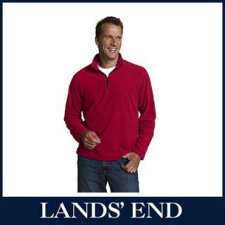 LANDS END Herren ThermaCheck 100 Pullover Pulli Fleece verschiedene