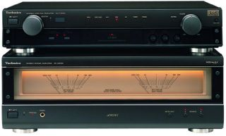 Technics SU A909 Class AA Control Amplifier & Power Amplifier