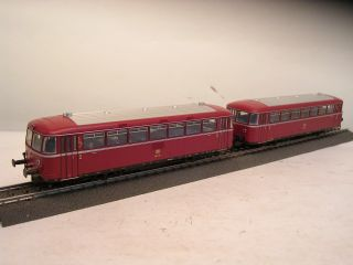 H0 39980 Schienenbus Garnitur BR 798/998 DB rot, mfx digi Sound    E94