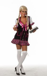 College Girl Schul Mädchen Kleid Kostüm Sexy