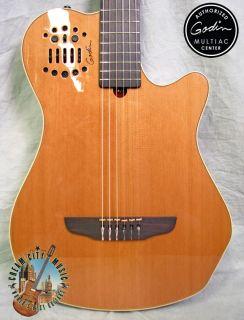 Godin Multiac Grand Concert SA Nylon Classical Guitar Cedar Top Synth