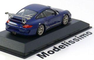 43 Minichamps Porsche 911 (997II) GT3 RS 2010 bluemet