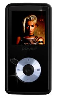 Odys Novo 4GB MP3 Player schwarz (221JD) Retoure