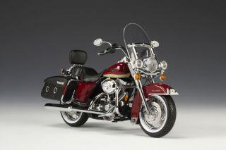 2007 Harley Davidson FLHRC Burgundy Road King
