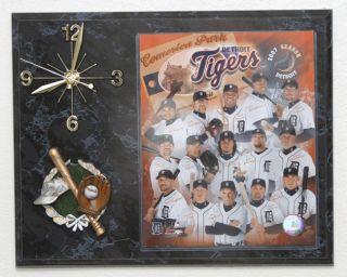 2007 Detroit Tigers Team Picture Clock