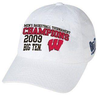 Majestic Wisconsin Badgers White NCAA 2009 Big Ten Mens