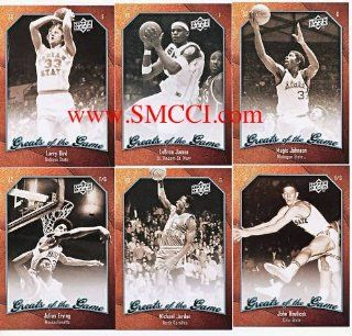 2009 / 2010 Upper Deck Greats of the Game Basketball