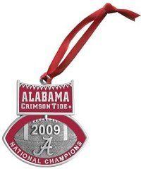 Alabama Crimson Tide 2009 BCS National Champions Christmas