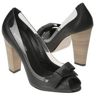 BCBG Max Azria Intriga2 Heel Slides Shoe Brown Women SZ Shoes