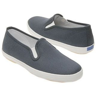 Keds Kids Champion Slip On Pre/Gra (Navy Canvas 2.0 M) Shoes