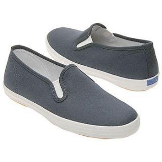 Keds Kids Champion Slip On Pre/Gra (Navy Canvas 2.0 M) Shoes
