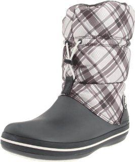 com Crocs Womens Crocband Winter Boot,Graphite/Oyster,4 M US Shoes