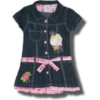 Disney Princess short sleeve Denim dress for girls
