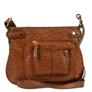 Jessica Simpson Honor Roll Crossbody Bag Walnut Clothing