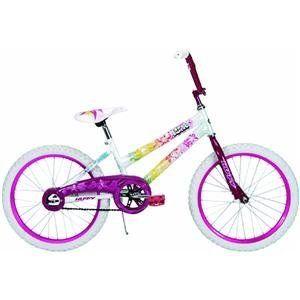 Huffy 20 Inch Girls So Sweet Bike (Aloha Pearl White