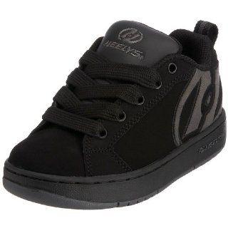 Kid/Big Kid Sleek Skate Shoe,Black/Charcoal,2 M US Little Kid Shoes
