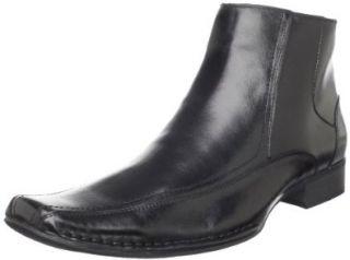Steve Madden Mens Bantem Boot,Black Leather,7 M US Shoes