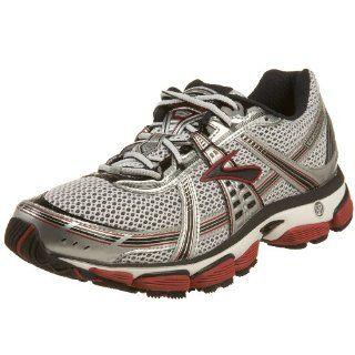 com Brooks Mens Trance 9 Running Shoe, Silver/Red/Black, 10 D Shoes