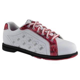 com Etonic Womens Cherry Red/Silver Bowling Shoes