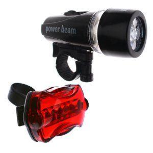 Power Beam Multi function LED Front & Rear LED Bike
