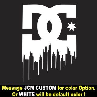 DC Shoe Logo   Vinyl Decal Sticker / 16 X 11 Everything