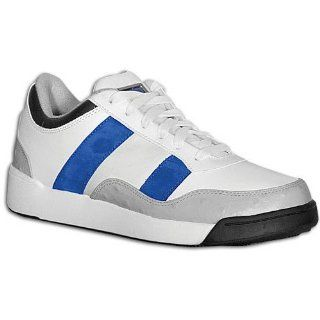 Mens S Carter Low Elite ( sz. 14.0, White/Grey/Royal/Black ) Shoes