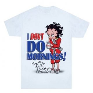 Betty Boop I Dont Do Mornings Night Shirt [Apparel
